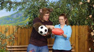 Sally and Possum